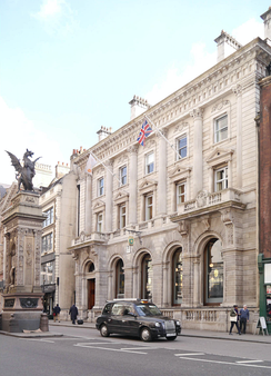 Child & Co's headquarters in Fleet Street. The brand focuses on private banking.