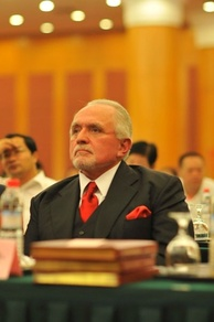 Peña in China, 2009