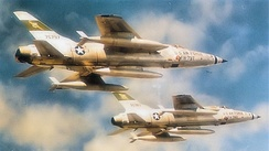 4th Tactical Fighter Wing F-105s
