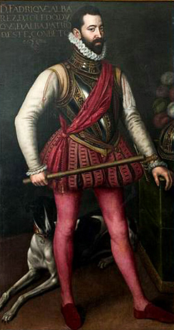 Don Fadrique Álvarez de Toledo was commander of the Spanish troops during part of the Dutch rebellion.