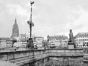 Frankfurt, c. 1911. After more than 600 years as a Free City, Frankfurt am Main was annexed to Prussia in 1866