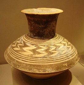 Pottery jar from Late Ubaid Period