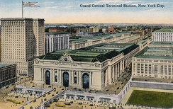 Postcard of Grand Central Terminal, c. 1915