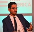 Guy Raz (BA, 1996), is a radio host for NPR.