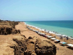Hawke's Bay, west of Karachi