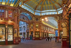 The restyled show debuts in Leadenhall Market.