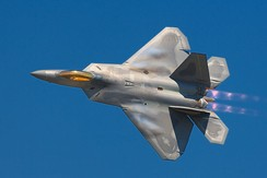 F-22 Raptor stealth air superiority fighter