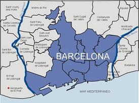 Карта на испанском языке
