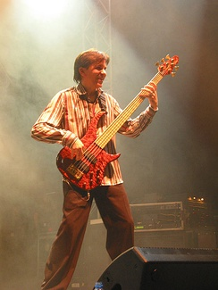 Mike Porcaro in 2005 in Germany