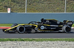 Renault (pictured here with Nico Hülkenberg) has had an active role in Formula One as both constructor and engine supplier since 1977