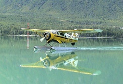 """Spirit of the Kenai"", landing on Kenai Lake, in Alaska, August 2003."