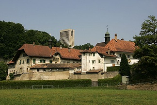 Maigrauge Abbey in Fribourg