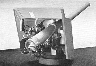"The 4.7"" Armstrong Guns, manufactured in Great Britain, were mounted at Battery Van Swearingen"