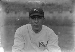 Peckinpaugh with the New York Yankees