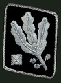 Gorget patchuntil April 1942(Allgemeine SS and Waffen-SS)