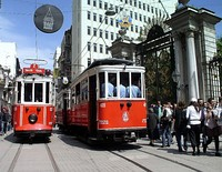 Istanbul's nostalgic and modern tram systems