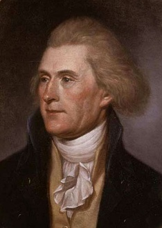 Thomas Jefferson is the university's founder