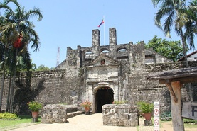 Fort San Pedro was first of many fortresses to protect the islands from invaders such as pirates and other colonizers.