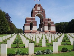 Thiepval Memorial to the British Missing of the Somme