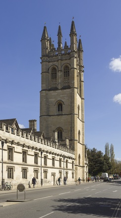 Magdalen College Tower.