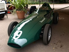 Vanwall won the International Cup for Formula One Manufacturers