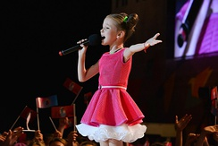 Daneliya Tuleshova represented Kazakhstan at the Junior Eurovision Song Contest 2018