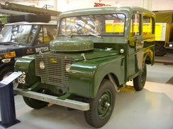 1948 Land Rover 80 with Tickford Station Wagon coachwork; Heritage Motor Centre, Gaydon