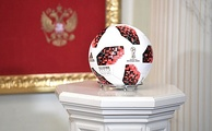"Match ball for the knockout stage, ""Telstar Mechta"""