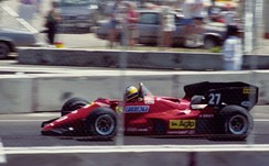 Michele Alboreto finished fourth in the Drivers' Championship in his first season at Ferrari.