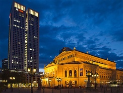 Old Opera House in Central Frankfurt