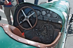 Dashbord of 1932 Buick Shafer 8