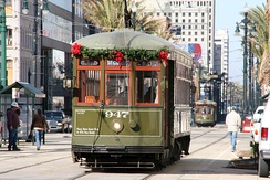Produced in 1923 and 1924, the 900 Series tram is still used by the New Orleans tram system. Trams typically have longer service life than internal combustion buses.