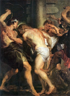 Flagellation of Christ by Rubens