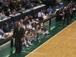 Hofstra visits the Patriot Center[154] on January 26, 2005