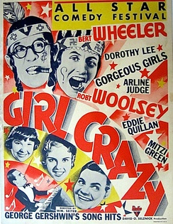 Poster for Girl Crazy (1932)