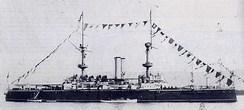 Resolution dressed overall in 1895.