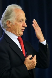 Mario Capecchi, Distinguished Professor of Human Genetics and Biology, co-winner of the 2007 Nobel Prize in Physiology or Medicine