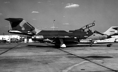 The prototype RF-101B (s/n 57-0301).