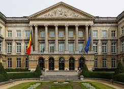 The Belgian Federal Parliament in Brussels, one of six different governments of the country