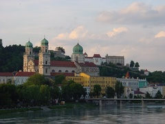 Cathedral and Oberhaus fortification in Passau