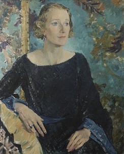 The Honourable Ruth Cable (c.1898-1973), Lady Benthall, 1935, by Glyn Philpot