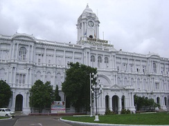 The Ripon Building, commissioned in 1913, houses the Chennai Corporation