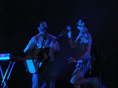 Scissor Sisters on tour in St. Louis, 2007