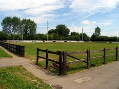 Waterside Park, the home of Thatcham Town