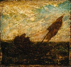Albert Pinkham Ryder, The Waste of Waters is Their Field, early 1880s, Brooklyn Museum