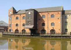 A former warehouse at Wigan Pier is named after Orwell