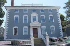 The Moffatt-Ladd House, home of William Whipple in Portsmouth, New Hampshire