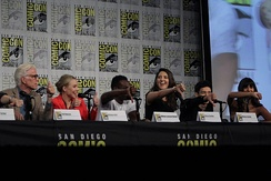 The cast of The Good Place at the 2018 San Diego Comic-Con