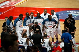 France national basketball team at the 2012 Summer Olympics.