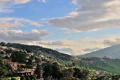 Almora city in Uttarakhand India